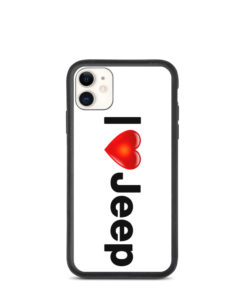 I Love Jeep Biodegradable iPhone case iPhone Cases I Love Jeep