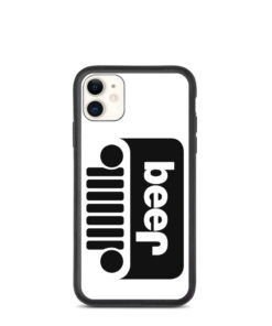 Jeep Beer Grill Logo Biodegradable iPhone case iPhone Cases Beer