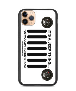 Jeep Gas Gauge Grill Biodegradable iPhone case iPhone Cases Jeep Gauge