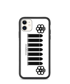 Jeep Bullets Revolver Cylinder Grill Biodegradable iPhone case iPhone Cases Bullets