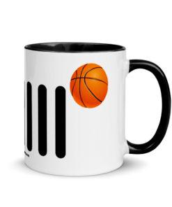 Jeep Basket Ball Grill Mug with Color Inside Mugs Basket Ball