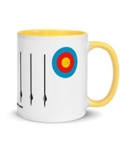 Jeep Archery Grill Mug with Color Inside Mugs Archery