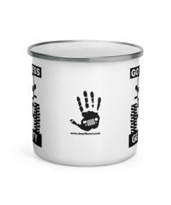 Go Topless, Get Dirty Enamel Mug Mugs Other