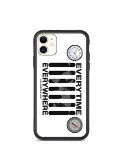 Everytime, Everywhere Jeep Grill Biodegradable iPhone case iPhone Cases Daily Jeep