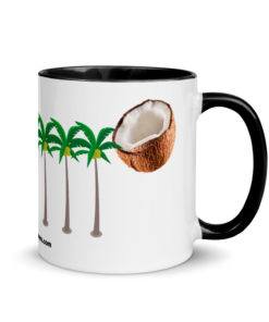 Jeep Coconuts Grill Mug with Color Inside Mugs Other