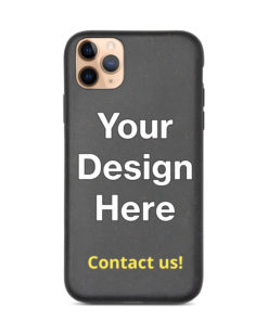 Your Design Here Biodegradable iPhone Case Add YOUR design