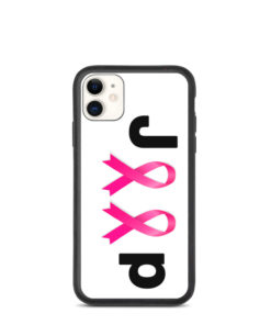 Jeep Breast Cancer Logo Biodegradable iPhone case iPhone Cases Breast Cancer
