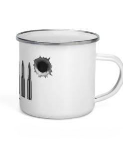 Jeep Bullets Grill Enamel Mug Mugs Bullets