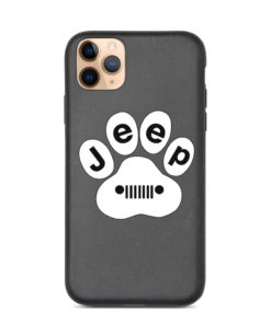 Jeep White Paw Biodegradable iPhone case iPhone Cases Paw