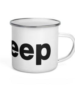 I Love Jeep Enamel Mug Mugs I Love Jeep