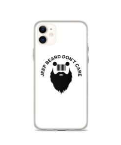 Jeep Beard, Don't Care iPhone Case iPhone Cases Beard