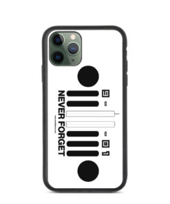9-11-01 Never Forget Biodegradable iPhone case