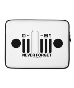 9-11-01 Never Forget Laptop Sleeve Laptop Cases 9-11