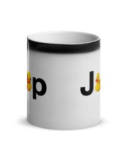 Duck Jeep Logo Glossy Magic Mug Mugs DuckDuckJeep