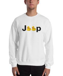 Duck Jeep Logo Unisex Sweatshirt Sweatshirts DuckDuckJeep