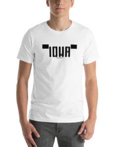 Iowa Jeep Grill (YJ Version) Short-Sleeve Unisex T-Shirt T-Shirts Iowa