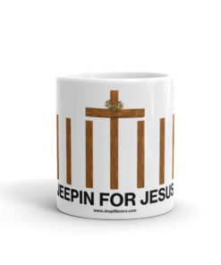 Jeepin For Jesus 7 Slots Grill Mug Mugs Jeeping For Jesus