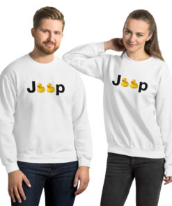 Duck Jeep Logo Unisex Sweatshirt