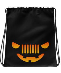 Jeep Halloween Drawstring bag