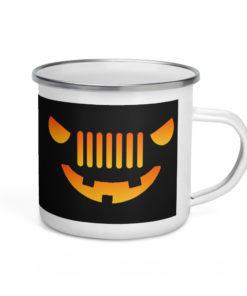 Jeep Halloween Enamel Mug