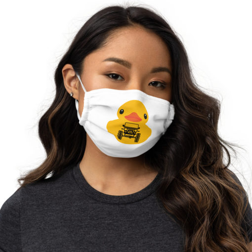 Duck Duck Jeep Face mask