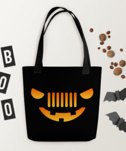 Jeep Halloween Tote Bag