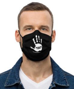 JeepWavers White Logo Face mask Face Masks JeepWavers