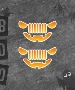 JeepOween 7 Slots Bubble-free stickers