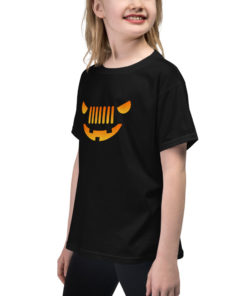 Jeep Halloween Youth Short Sleeve T-Shirt