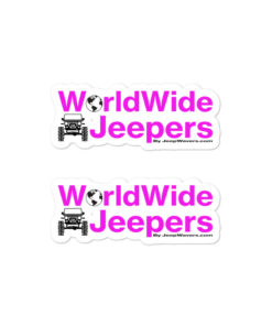 WorldWide Jeepers FB Group stickers