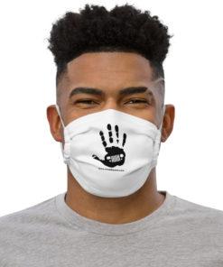 JeepWavers Black Logo Face mask Face Masks JeepWavers