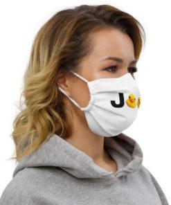 Duck Duck Jeep Logo Face mask Face Masks DuckDuckJeep