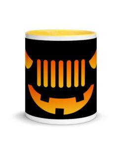 Jeep Halloween Mug with Color Inside