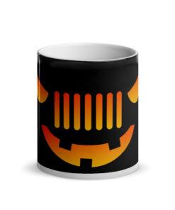 Jeep Halloween Glossy Magic Mug