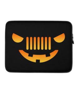 Jeep Halloween Laptop Sleeve