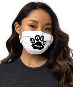 Jeep Paw Face mask Face Masks Paw