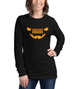 Jeep Halloween Long Sleeve T-Shirt