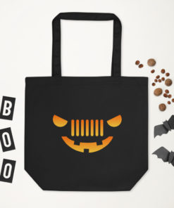 Jeep Halloween Eco Tote Bag