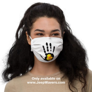 Jeep Ducking Face Mask