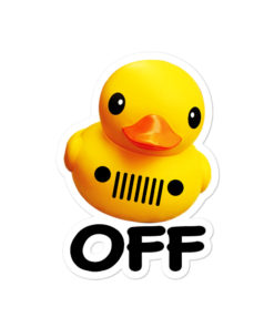 Jeep Duck OFF Bubble-free stickers