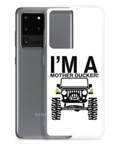 I'm a Mother Ducker! Samsung Case Samsung Cases DuckDuckJeep