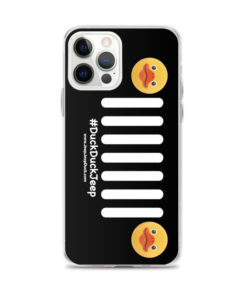 Duck Duck Jeep Grill iPhone Case