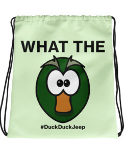 What The Duck! Drawstring bag