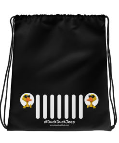 DuckDuckJeep Grill Drawstring Bag