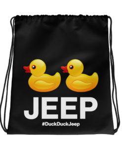 DuckDuckJeep Drawstring bag