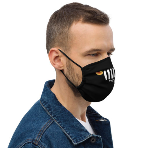 Duck Duck Jeep Grill Face mask