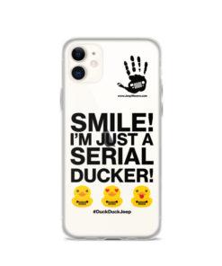 Serial Ducker! iPhone Case