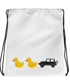 DuckDuckJeep Drawstring bag