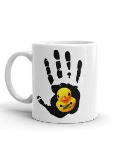 Jeep Wave Duck Mug Mugs DuckDuckJeep