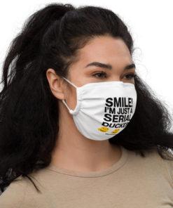 Serial Ducker! Face mask